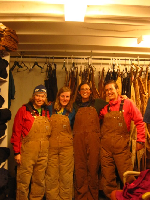 Insulated Carhartt overalls!