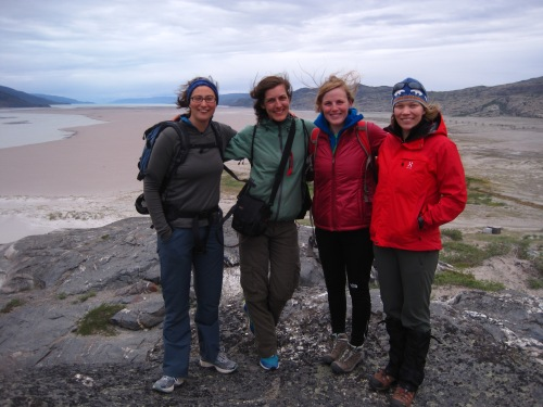 The ladies of C4 explore Kangerlussuaq!