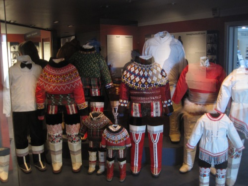 varieties of traditional Greenlandic outfits