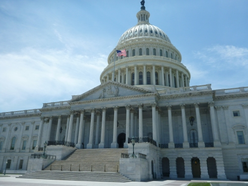 The Capitol Building, home to the Senate and House of Representatives