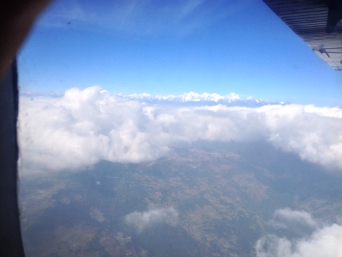 Flying to Lukla from Kathmandu